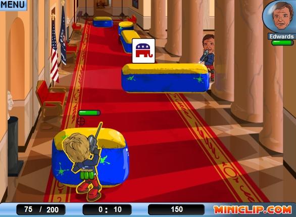 アメリカのホワイトハウスで撃ち合い.JPG