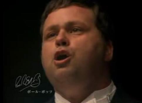 冴えない男「ポール・ボッツ」日本のCMに出演.JPG