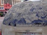 車の汚れた窓に描く超絶アート.jpg